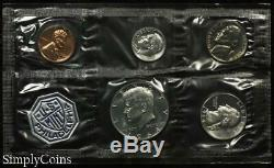 (10) 1964 Proof Set Original Envelope With COA US Mint Silver Coin Lot