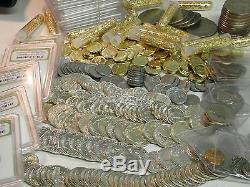 11 Coins Incl. Gem Bu Silver(walking-franklin-war 5c-roosie-washington-merc)++#25