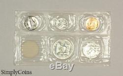 1955 Proof Set Original Envelope US Silver Mint Coin Set