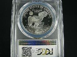 1972 S Eisenhower Silver Dollar PCGS Pf 70 Dcam, Nice Coin Population 338