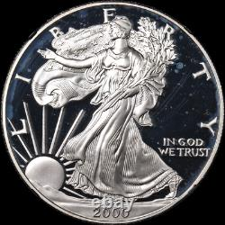 1986 to 2014 Proof Silver Eagle Set NGC PR69 Ultra Cameo Black Label 28 Coins