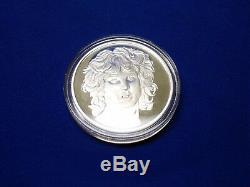 1991 The Doors / Jim Morrison Silver Coin Proof Ray Manzarek Krieger Densmore