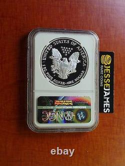 1993 P Proof Silver Eagle Ngc Pf69 Ultra Cameo Rare Mercanti Signed