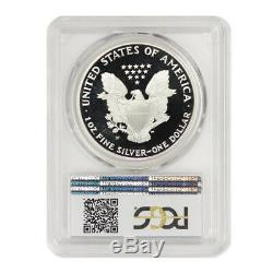 1995-W $1 Silver Eagle PCGS PR69DCAM Deep Cameo Proof coin KEY DATE OF SERIES