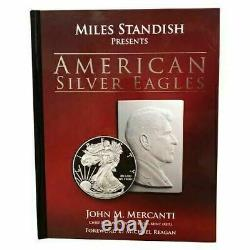 2001-2021 W $1 Proof Silver Eagle Set NGC PF70 Ultra Cameo Mercanti Signed