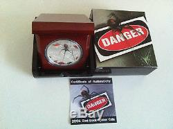 2006 $1 Dds Redback Spider 1oz Silver Proof Coin