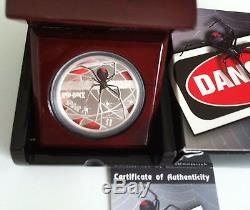2006 $1 Dds Redback Spider 1oz Silver Proof Coin Original Issue