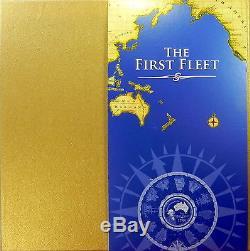 2008 FIRST FLEET SILVER PROOF COIN & MEDALLION 13 PIECE JIGSAW Coin Set