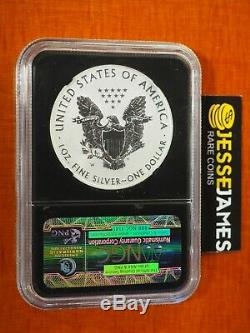 2013 W Reverse Proof Silver Eagle Ngc Pf70 Early Releases Black Core One Coin