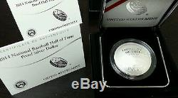 2014 Baseball Hall of Fame 6 Coins Set(2-$5 Gold, 2- $1 Silver, & 2-Half Dollar)
