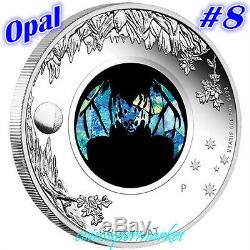 2015 Australia Opal Series #8 Ghost Bat 1oz Silver Proof Coin Perth Mint OGP