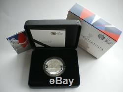 2016 Royal Mint Britannia £2 Two Pound Silver Proof 1oz Coin Box Coa