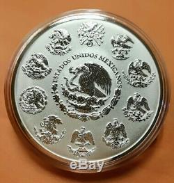 2017 Mexico Silver Libertad 5 Oz Reverse Proof coin