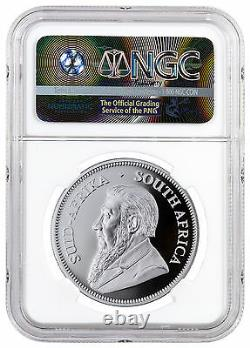 2017 South Africa 1oz Silver Krugerrand 50th Anniversary NGC GEM Proof Exclusive