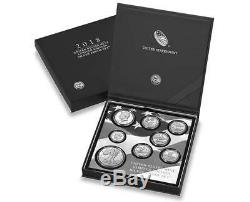 2018 S US Mint Limited Edition Silver Proof 8 Coin Set (18RC)