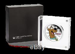 2018 Tuvalu SCOOBY-DOO 1oz SILVER $1 PROOF COIN Dog Year