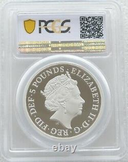 2019 Great Engravers Una and the Lion £5 Silver Proof 2oz Coin PCGS PR70 DCAM