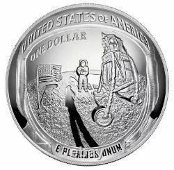 2019-P Proof Apollo 11 50th Anniversary 5 oz PCGS PR69 DCAM Silver Dollar Coin