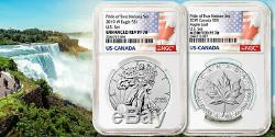 2019 Pride of Two Nations Limited Edition Two-Coin Set NGC PF70 FIRST RELEASE