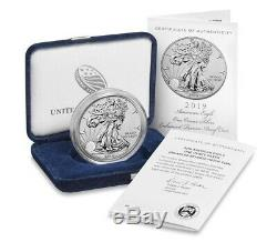 2019-S 19XE Enhanced Reverse Proof Silver Eagle Coin Unsealed