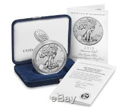 2019-S American Eagle 1 Ounce Silver Enhanced Reverse Proof Coin IN HAND SEALED