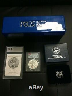 2019-S American Eagle 1 Oz Silver Enhanced Reverse Proof Coin FIRST STRIKE PR69