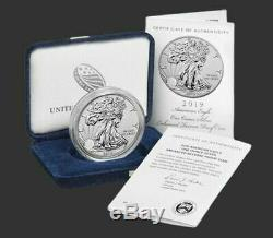 2019-S American Eagle One Ounce Silver Enhanced Reverse Coin Confirmed Order