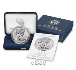 2019-S American Eagle One Ounce Silver Enhanced Reverse Proof Coin CONFIRMED