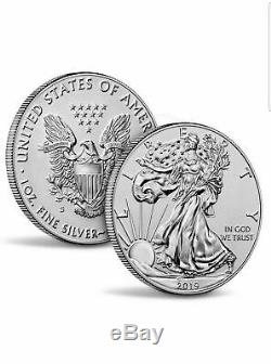 2019-S American Eagle One Ounce Silver Enhanced Reverse Proof Coin PR69