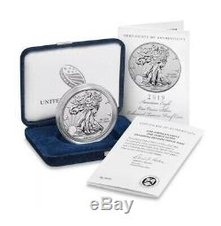 2019 S American Eagle One Ounce Silver Enhanced Reverse Proof Coin Pcgs