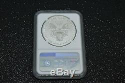 2019-S American Eagle Silver Enhanced Reverse Proof Coin NGC PF70 ER, Wooden Case