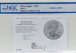 2019-S American Silver Eagle 1 oz Silver Enhanced Reverse Proof Coin NGC PF 70