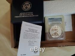 2019-S American Silver Eagle 1 oz Silver Enhanced Reverse Proof Coin PR70