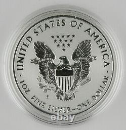 2019 S American Silver Eagle Enhanced Reverse Proof $1 Coin +BOX & COA (SF Mint)