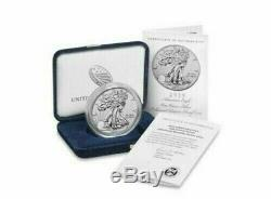 2019-S Enhanced Reverse Proof American Eagle Silver Coin With Box & COA