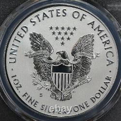 2019-S Enhanced Reverse Proof Silver Eagle SIGNED COA #67 PCGS PR70 1st Strike