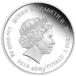 2019 Star Trek THE ORIGINAL SERIES KIRK 1oz $1.9999 Silver Proof Coin