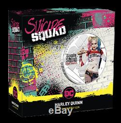 2019 Suicide Squad Harley Quinn Proof $1 1oz Silver COIN NGC PF 70 FR