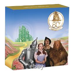 2019 THE WIZARD OF OZ 80TH ANNIVERSARY $1 1oz SILVER PROOF COIN