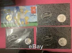 2019 The Simpsons Family Silver Proof Coin Collection, Perth Mint