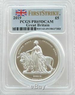 2019 Una and the Lion £5 Silver Proof 2oz Coin PCGS PR69 DCAM First Strike