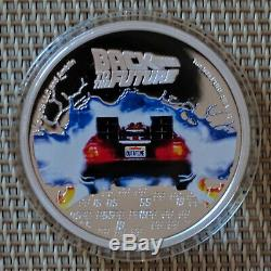 2020 Back to the Future 35th Anniversary 1oz Silver Proof Coin