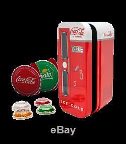 2020 Coca-Cola Vintage Vending Machine 4-Coin Silver Set Sprite Fanta Diet Coke