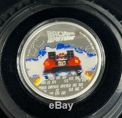 2020 Niue Back to the Future 35th Anniversary 1 oz Silver Proof Coin 2020 Made