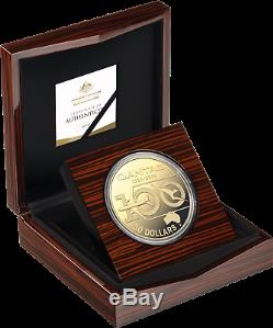 2020 QANTAS CENTENARY $30 1kg GOLD PLATED SILVER PROOF COIN UNC ONLY 100 MADE