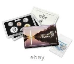 2020 Silver Proof 10 Coin Set + 2020 Jefferson Nickel West Point Reverse Proof