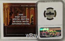 2020 Silver Proof Set 11 Coins Total with Reverse Proof W Nickel NGC PF70