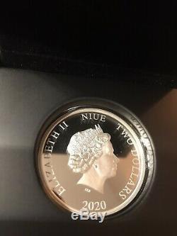 2020 Star Wars Death Star 1oz Silver Coin
