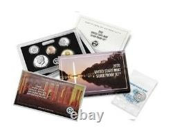 2020 U. S. MINT 10 COIN SILVER PROOF SET with 2020 W REVERSE PROOF NICKEL