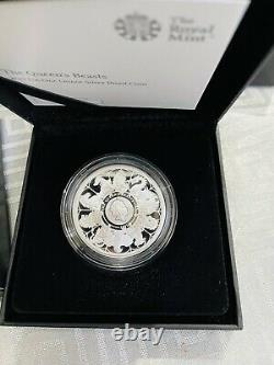 2021 Queen Beast Completer 1oz Silver Proof Coin Royal Mint With COA